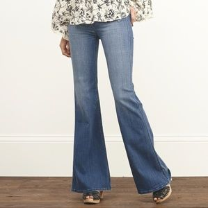 Abercrombie & Fitch High Waisted Flare Jeans 29